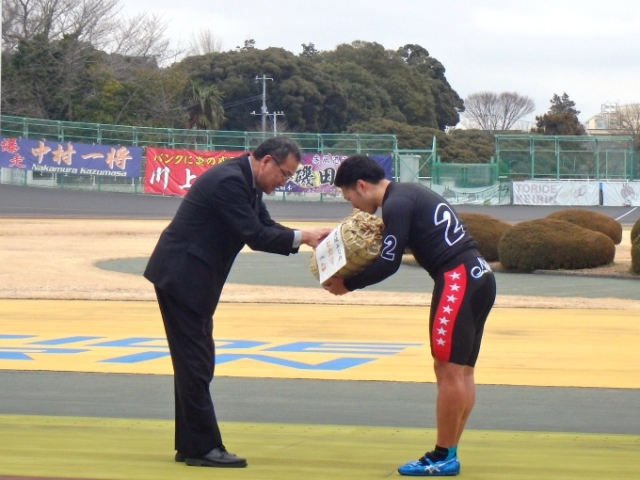 東京スポーツ杯 表彰式
